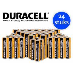 Duracell Industrial AA Batterijen - 24 stuks
