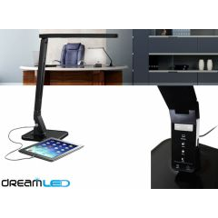 Dreamled Desk Sensor led-lamp - met 4 lichtstanden, dimbaar en USB-ingang