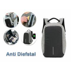 Anti-diefstal rugzak met USB poort - Met verborgen ritsen en geschikt voor je laptop