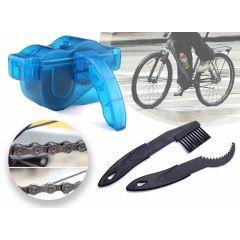 Fietsketting reiniger - Complete set om eenvoudig je ketting te reinigen