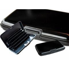 Aluminium wallet  - De compacte en veilige portemonnee waar alles in past