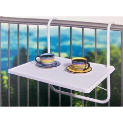 Inklapbare balkontafel zonder poten - Alle ruimte op je balkon of loggia