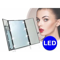 8 LED Make-Up Spiegel
