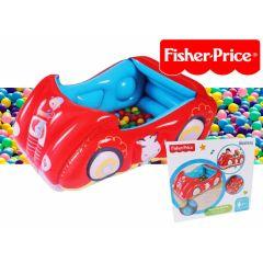 Fisher-Price Bestway ballenbak wagen - vanaf 2 jaar - Leuke ballenbak voor thuis
