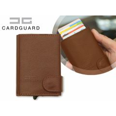 Card Guard Uitschuifbare portemonnee - Beveiligt je bankpassen en creditcard tegen hackers