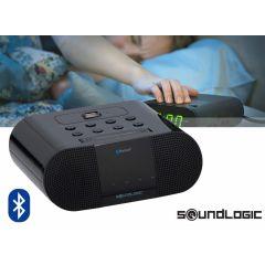 Soundlogic draadloze wekkerradio met USB-lader - Unieke werking op Bluetooth