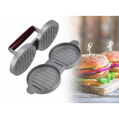 Dubbele hamburger pers - Maak twee hamburgers tegelijkertijd