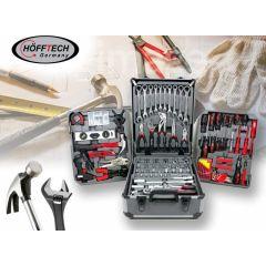 Hofftech gereedschapstrolley - 186-delig