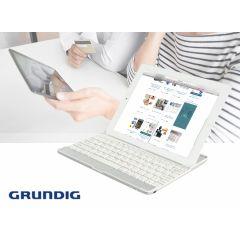 Grundig bluetooth toetsenbord  - Maak van je tablet een laptop