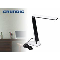 Grundig zwart-witte bureaulamp - Kantelbare en verstelbare lamp