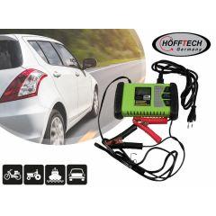 Höfftech acculader 6/12 Volt - Met LCD-display