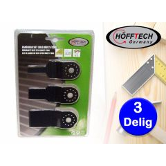 Höfftech 3-delige zaagbladset multitool - Voor het fijnere zaagwerk