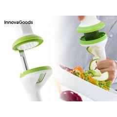 InnovaGoods 3-in-1 spiraalsnijder - Snij eenvoudig linten, tagliatelle en spaghetti