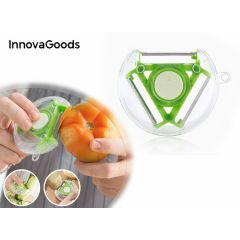 InnovaGoods 4-in-1 dunschiller - Multifunctionele groente- en fruitschiller