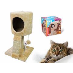 Krab- en speelpaal - Met een slaapplaats voor de kat