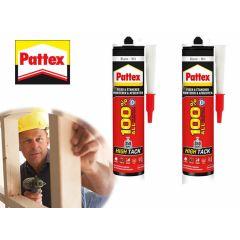 Pattex High-Tack extra sterk -  Set à 2 stuks om te monteren en te bevestigen