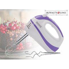 Royalty Line 5-speed handmixer -  Met kloppers, een snelle garde en opbergtas