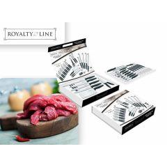 Royalty line 24-delige messen- en vorkenset -  Voor al je snijwerk een geschikt keukenmes