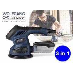 Wolfgang 3-in-1 multischuurmachine - Met 3 verwisselbare schuurzolen