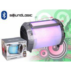 Soundlogic Portable XL- speaker met led-verlichting en ingebouwde subwoofer