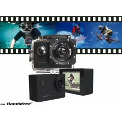 Mr. Handsfree Full HD sportscam - Ultralicht en waterproof tot 10 meter