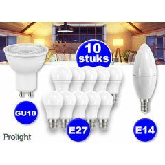 Prolight Led lampen - 10 stuks