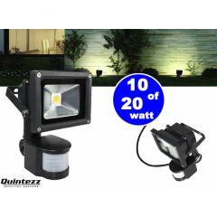 Quintezz led sensor floodlight buitenlamp met bewegingssensor