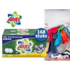 168 XXL-pack Ariel Regular Tabs,voor stralend schone was