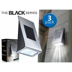 The Black Series - Led solar light - 3-pack