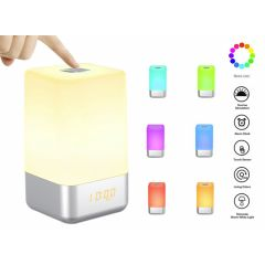 Sunrise RGB Wake-Up Light - Ook als oplaadbare tafellamp te gebruiken