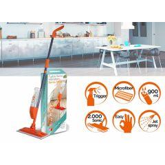 Turbo vibration spray mop - Lichtgewicht dweil met sprayfunctie