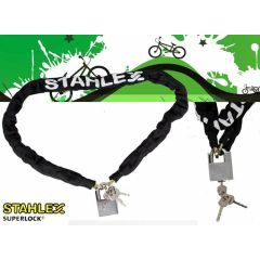 Stahlex hangslot - gehard staal - 120 centimeter