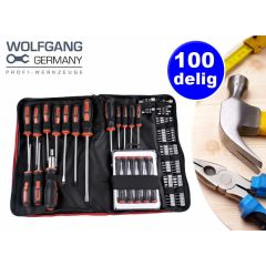 Wolfgang schroevendraaiers - 100-delig