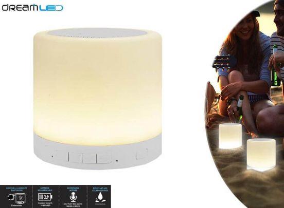 Dreamled SP100 - Bluetooth speaker en sfeerlamp in één