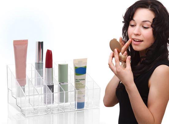 24 Klar Lippenstift Halter