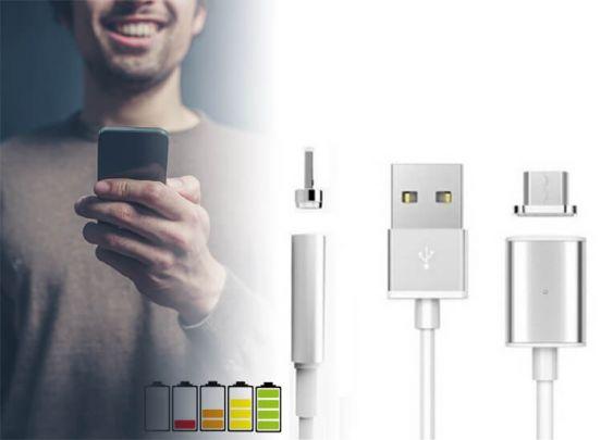 Magnetische oplaadkabel - micro-USB - Puur oplaadgemak