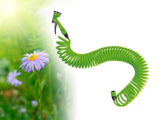 Lifetime Garden spiraal tuinslang met sproeikop - 15 m