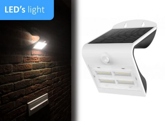 LED's Light Solar buitenlamp met sensor