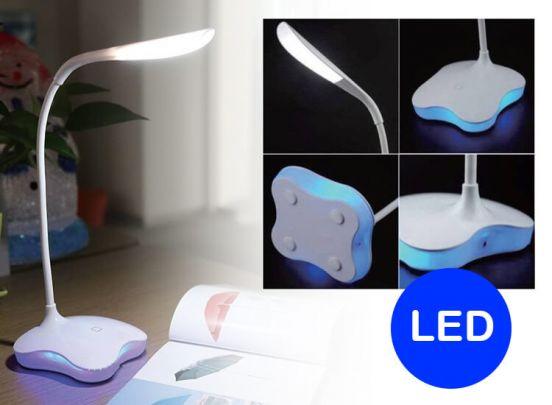 Benson Bureaulamp - Wit - 14 SMD LED - Touch | Dealdonkey