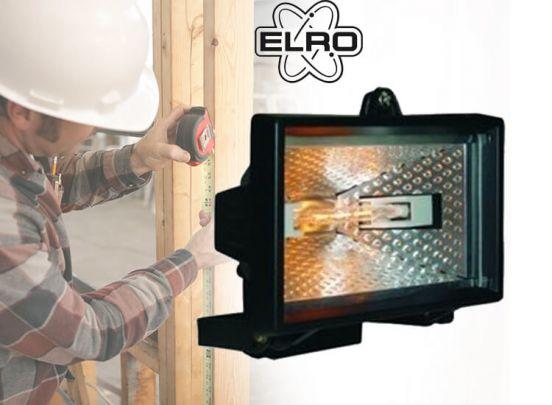 Elro HL400 Halogeen floodlight schijnwerper