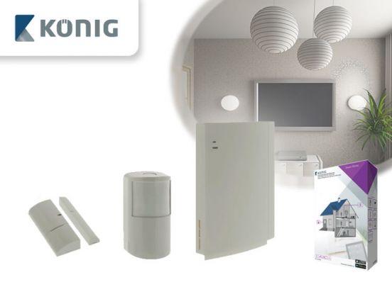 Konig Smart Home - Draadloos beveiligingssysteem