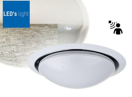LED's Light plafondlamp LUXURY 15W Ø35cm met sensor