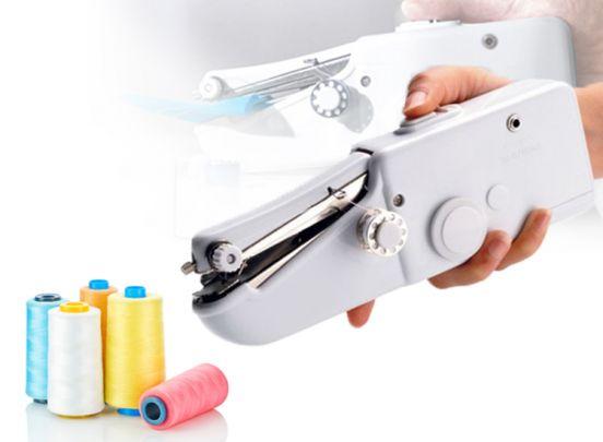 Mini naaimachine - Ideaal om snel een eenvoudig kleding of gordijnen ...