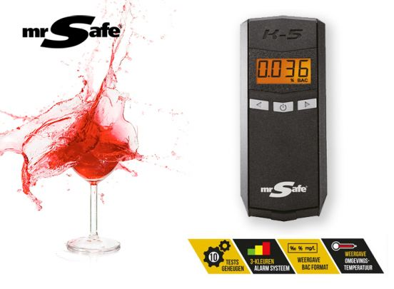 MR SAFE ALCOHOL TESTER