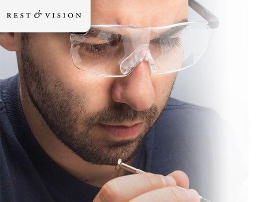 Rest & Vision vergrotende bril - Geeft een vergroting van 160%