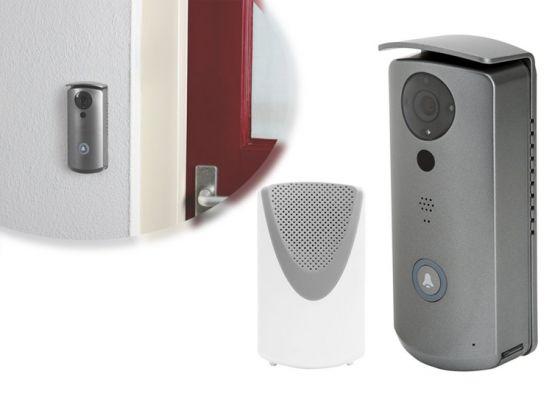 SecuFirst DID501 HD 720P -  Veilige Wifi deurbel met camera