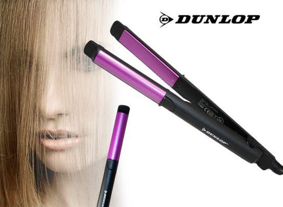 Dunlop Pro hair straightener - Stijltang met keramische coating