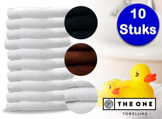 The One Towelling® handdoeken - 10 stuks - Prachtige kwaliteit
