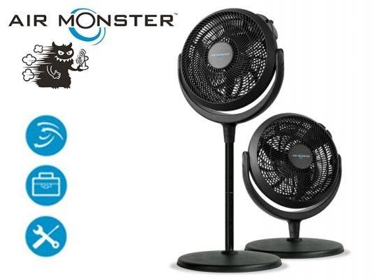 Air Monster verstelbare ventilator