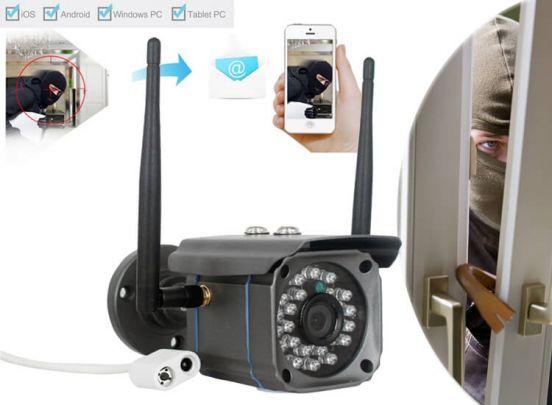 Outdoor IP-camera - Zie alles wat er rondom je huis gebeurt